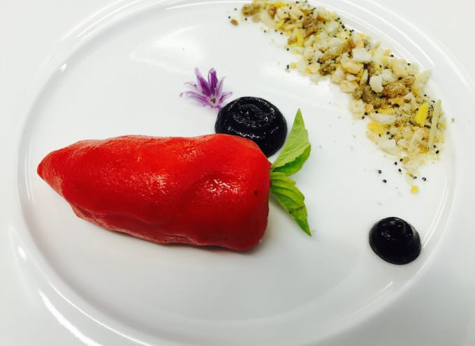 "Peperone ""Imbottito"" alla Lucana by Gianfranco Bruno, Chef Lucano"