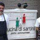Chef Luigi Sartini -Righi di San Marino: un ristorante in suo onore a Osaka