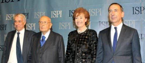 ISPI 2015: Pisapia, Napolitano, Moratti, Sala