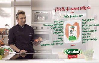 Andrea Mainardi cucina Amadori a MasterChef