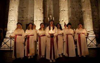 8, 9 e 10 dicembre: Roma e Milano festeggiano Santa Lucia svedese