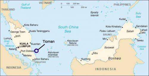 malaysia map- malesia