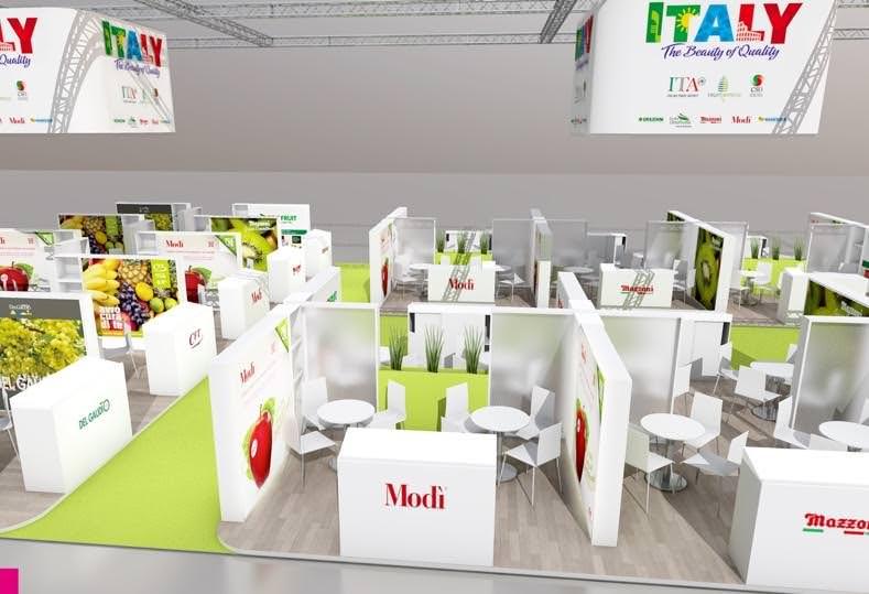 Fruitlogistica: Il marchio Italy si presenta con lo stand più grande di sempre