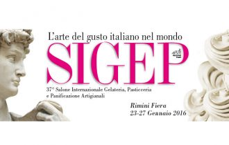 Sculture in cioccolato: Una copia del David di Michelangelo a SIGEP 2016