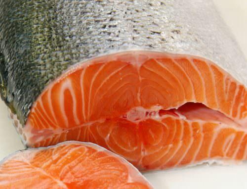 salmone trancio