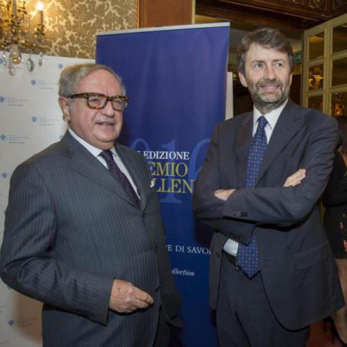 Achille Colombo Clerici con Ministro Dario Franceschini