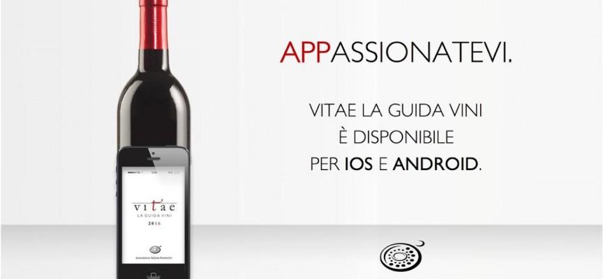 App Vitae: Uno strumento utilissimo per gli amanti del vino