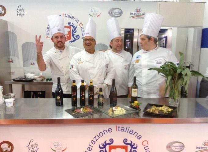 Exporiva40: Protagonisti gli chef Beltrame, Manfredi, Verta e Bisato