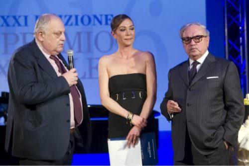 Direttore Il Giorno Giancarlo Mazzuca, Tessa Gelisio, Achille Colombo Clerici