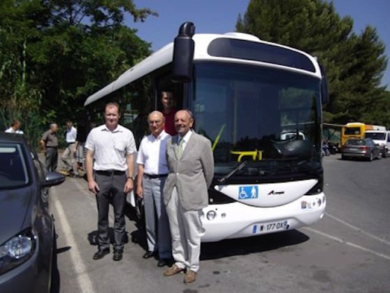 A Nizza si sperimentano i bus elettrici