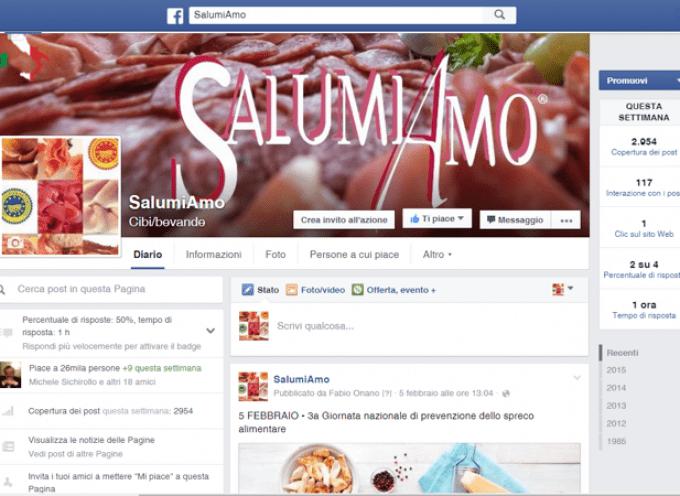 Salumi e social media: Tanti salami per amici…