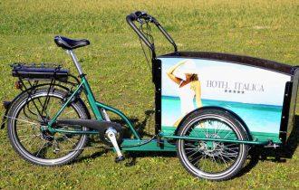 Novità a Expo Riva Hotel: le biciclette a tre posti di Italica di Walter Turniano