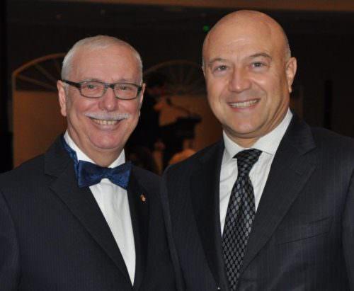 Ambasciatore Antonio Morabito e Tommaso Chiarella. Antonio Morabito da ex Ambasciatore d'Italia nel Principato di Monaco, 2010 al 2015, è diventato Ministro Plenipotenziario al Ministero degli Affari Esteri