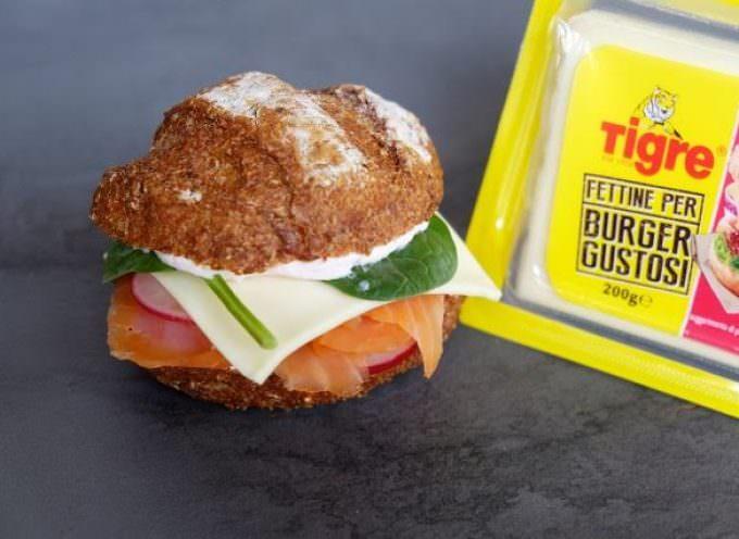 Tigre lancia le nuove Fettine Burger di Emmentaler Svizzero