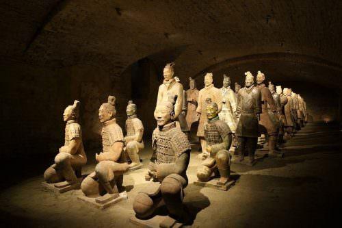 Guerrieri terracotta cinesi a Piacenza