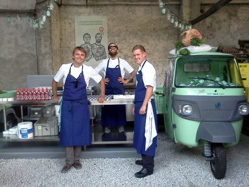 Street food a Milano