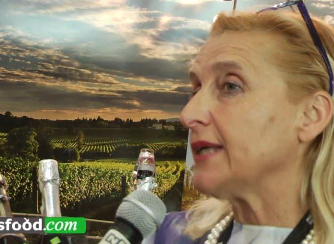Elisabetta Abrami Vini BIO in Franciacorta, Vinitaly 2016 (Video)