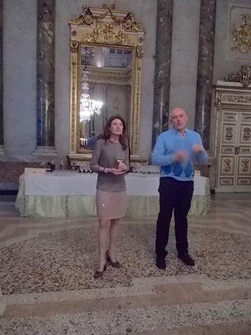 Gaetana Jacono e Carlo Casavecchia
