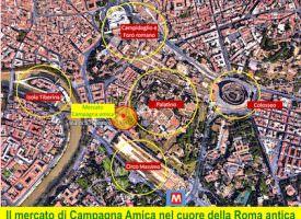 Natale di Roma tra Campagna Amica ed enogastronomia