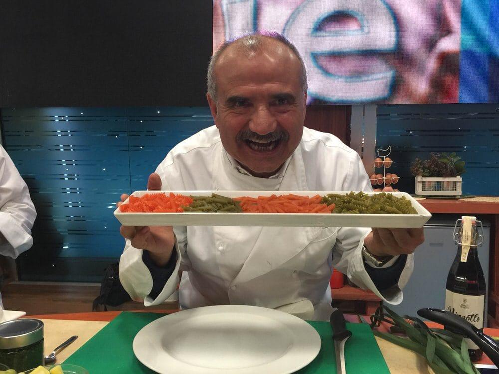 Esordio della pasta di legumi in Rai a Geo&Geo con Peppe Zullo