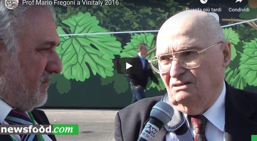 Mario Fregoni, il Professore del Vino al 50° Vinitaly (Video)