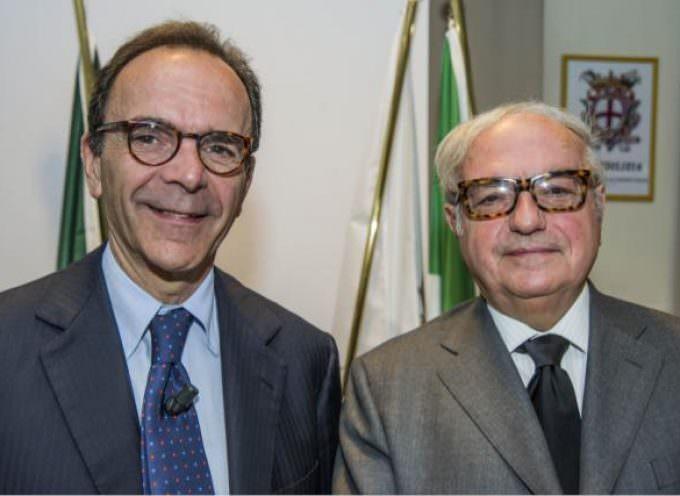 Stefano Parisi, candidato sindaco di Milano, in Assoedilizia