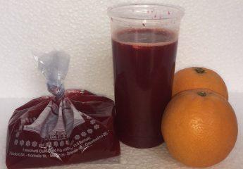 Come congelare il succo d'arancia per l'estate