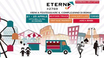 ETERNA #2769, Street food al Palio di Roma, Città dell'Altra Economia
