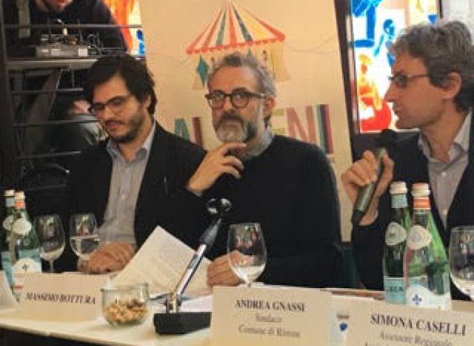Torna Al méni: Bottura e i più grandi talenti della cucina internazionale a Rimini per il Circo 8 e 1/2 dei sapori