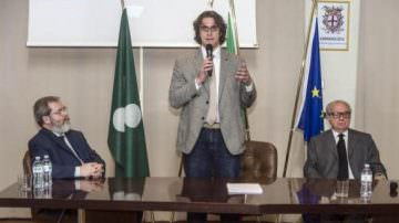 Gianluca Corrado, Movimento 5 Stelle, candidato sindaco di Milano, incontra Assoedilizia