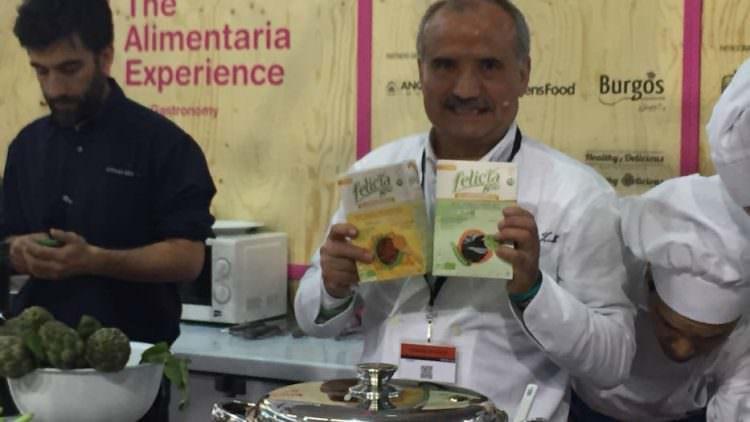 Peppe Zullo e la pasta di legumi anche a Cibus
