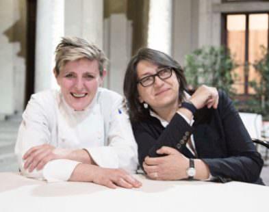 Il Premiolino 2016 - La Chef Viviana Varese e Sandra Ciciriello (Alice Ristorante Milano)
