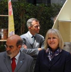 José Graziano da Silva e Jenny Chandler