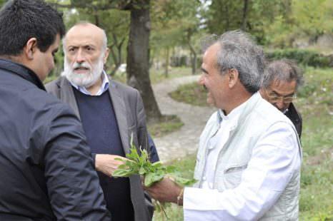Peppe Zullo con Carlo Petrini