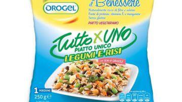 Piatto unico Orogel: Legumi e Risi… tutto x uno
