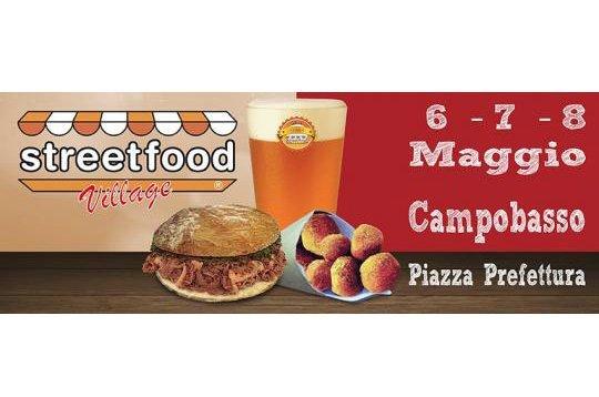 Lo Streetfood Village fa tappa a Campobasso