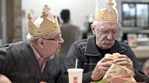 Umarelles, Burger King