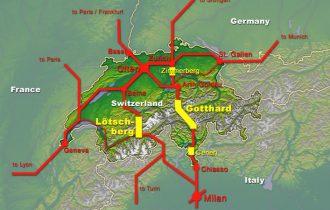 Alp Transit: il traforo ferroviario più lungo del mondo
