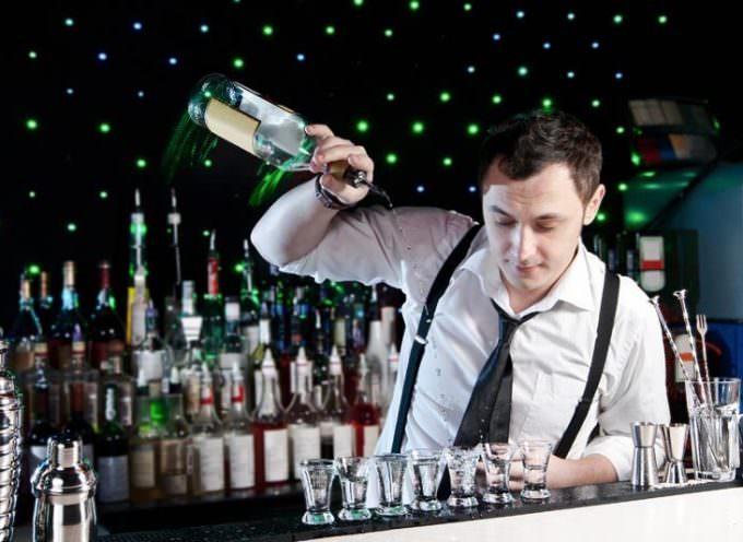 La professione del barman all'estero … bartender, barista