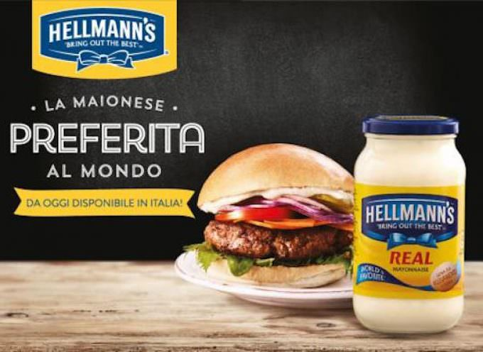 La maionese Hellmann's arriva in Italia