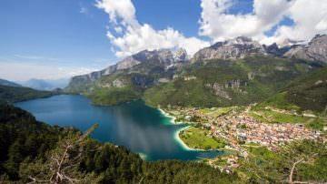 Molveno: Per il 3° anno è il miglior lago d'Italia
