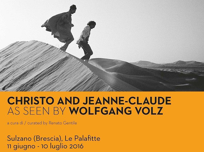Presentato il progetto della mostra Christo e Jeanne-Claude as seen by Wolfgang Volz