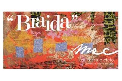 Vernissage con brindisi nelle cantine  Braida