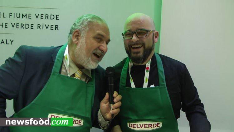 Leonardo Naccarelli: pasta novità Delverde a Cibus 2016 (Video)
