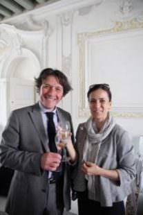 Stefano ZANETTE, Presidente del Consorzio tutela del Prosecco Doc e Maria Chiara FERRARESE, Direttore tecnico Equalitas