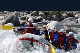 Il brivido del rafting… vacanze sul Sesia