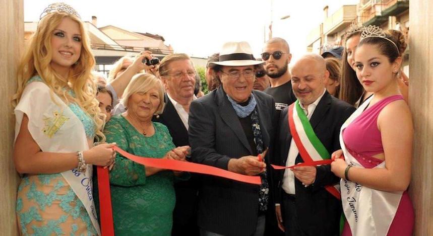 Al Bano inaugura i prodotti da forno BIO La Maggiore di Altamura