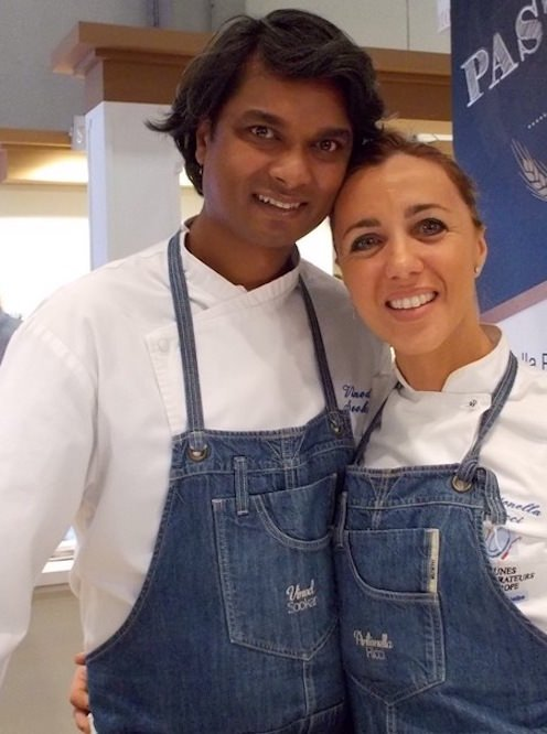 Antonella Ricci con il marito Vinod  Sookar