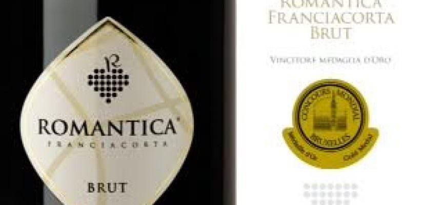 Brut 2013 Franciacorta DOCG Romantica Avanzi vince il Concours Mondial de Bruxelles