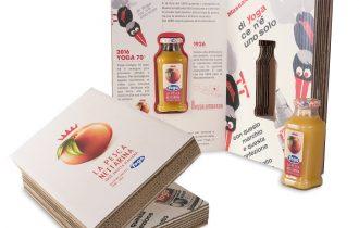 Yoga, Pesca Nettarina: Hub09 firma una limited edition packaging per i 70 anni